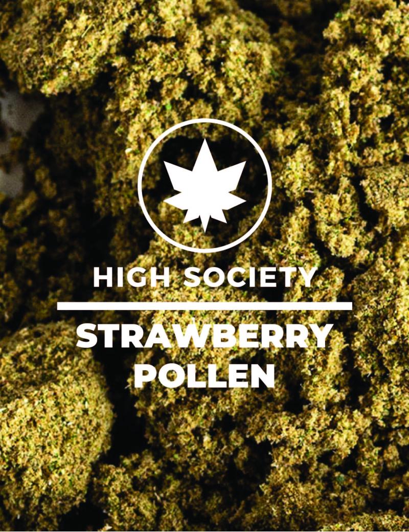Strawberry Pollen - 50/100g