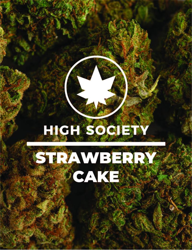 HighSociety-Fleurs-Indoor-StrawberryCake-CBD-50G-100G